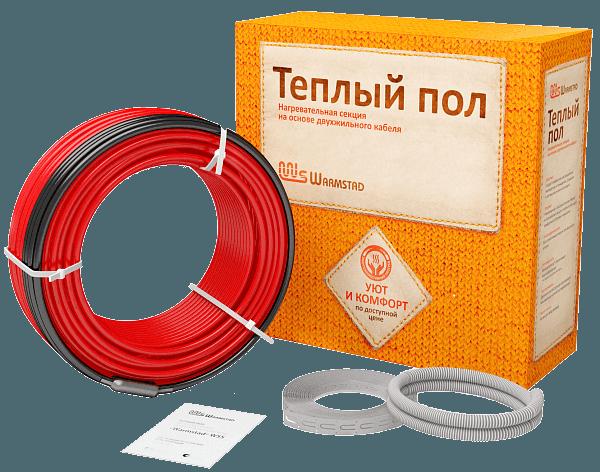 Двужильный нагревательный кабель Warmstad