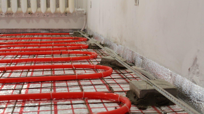 укладка теплого пола на бетон