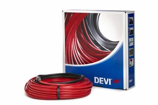 Двужильный нагревательный кабель Devi DEVIsafe