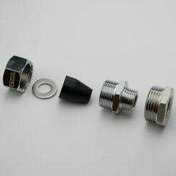 Муфта (сальник) для ввода нагревательного кабеля в трубу купить в Минске