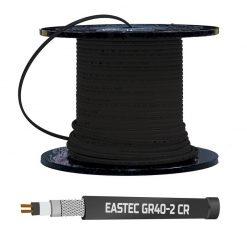 Саморегулирующийся греющий кабель GR40-2CR (40 Вт/м) с УФ-защитой